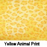 Yellow Animal Print