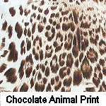 Chocolate Animal Print