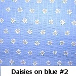 daisies on blue #2