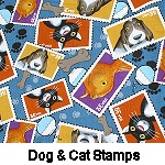 Dogs & Cats Stamps