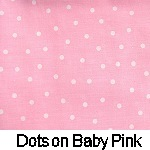 Dots on Baby Pink