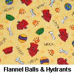 Flannel Balls & Hydrants