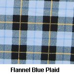 Flannel Blue Plaid