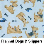 Flannel Dogs & Slippers