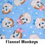 Flannel Monkeys
