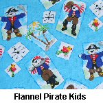 Flannel Pirate Kids