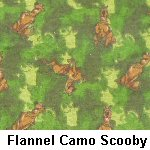 Flannel Camo Scooby