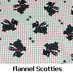 Flannel Scotties
