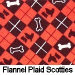 Flannel Plaid Scotties