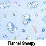 Flannel Snoopy