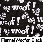 Flannel Woof on Black