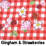 Gingham & Strawberries