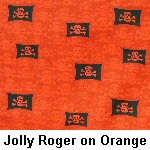Jolly Roger on Orange
