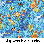Shipwreck & Sharks